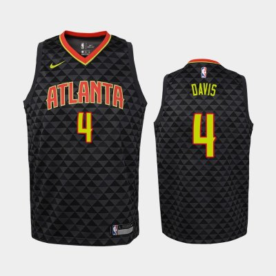 Atlanta Hawks #1 Justin Anderson Icon Black Swingman Jersey